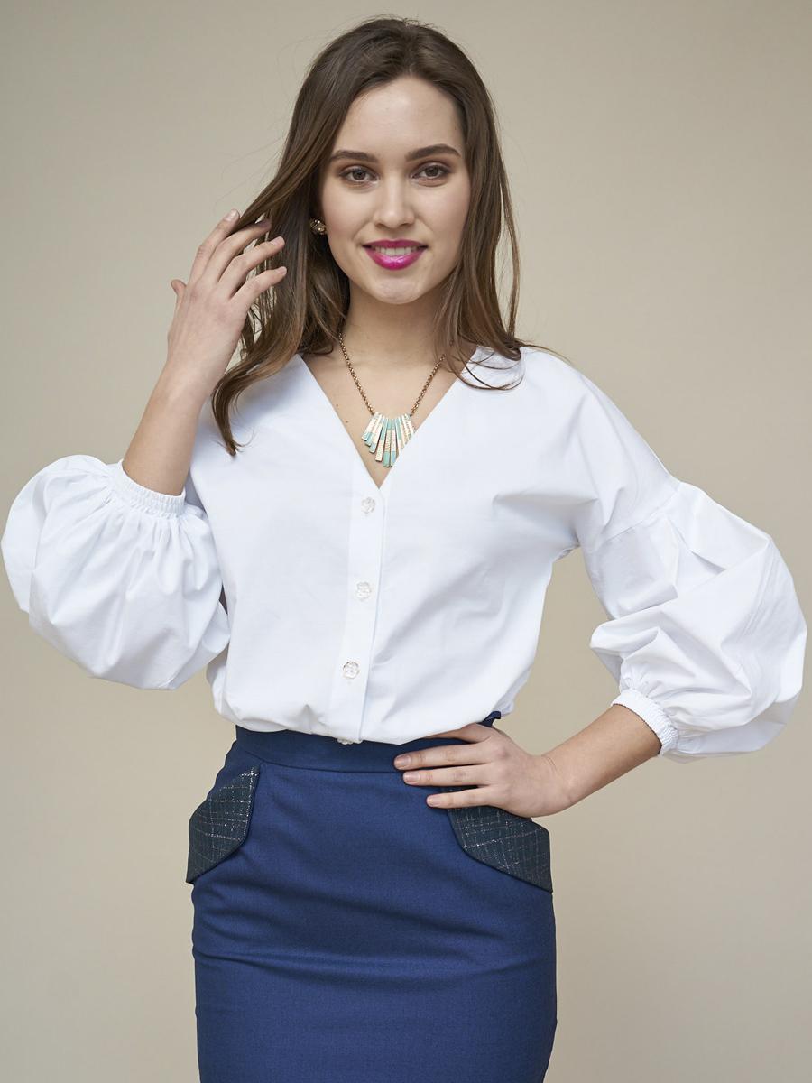 Купить блузку с пышными рукавами