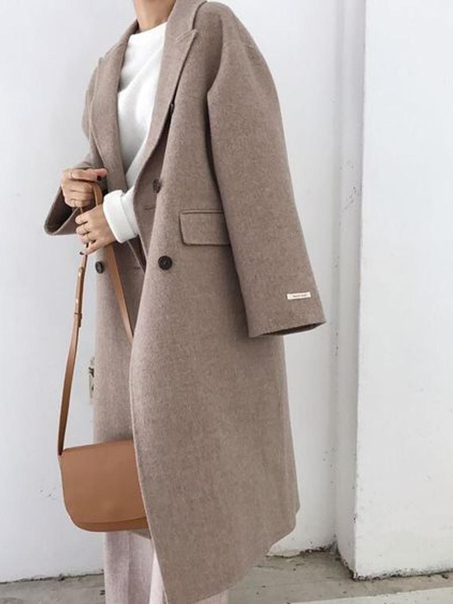 пальто бежевого цыета