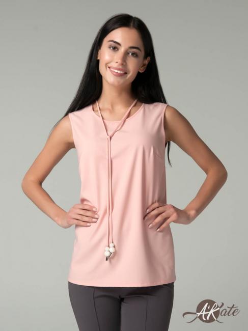 Блузка без рукавов