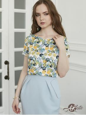 Блузка с коротким рукавом Оптом