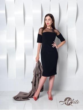 Платье футляр черное Оптом