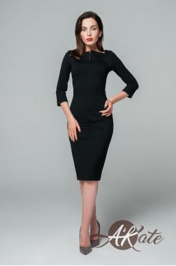 Платье футляр черный Оптом