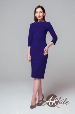 Платье футляр синее Оптом