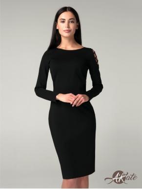 Платье футляр со шнуровкой на плече Оптом