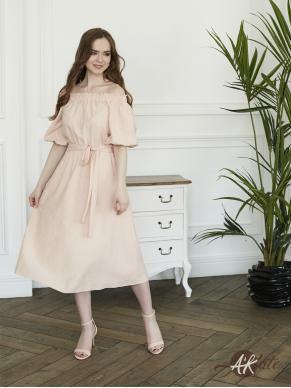 Платье с открытыми плечами Оптом