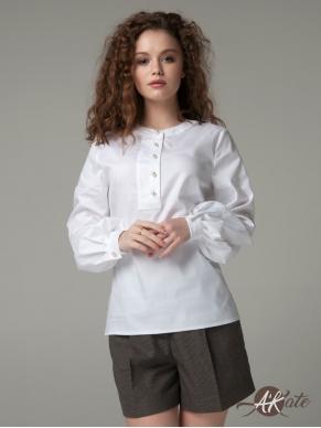 Рубашка с пышным рукавом Оптом