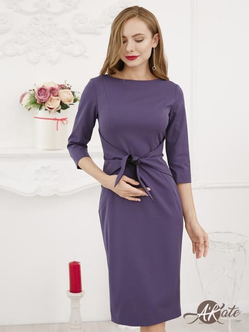 Платье футляр с рукавом