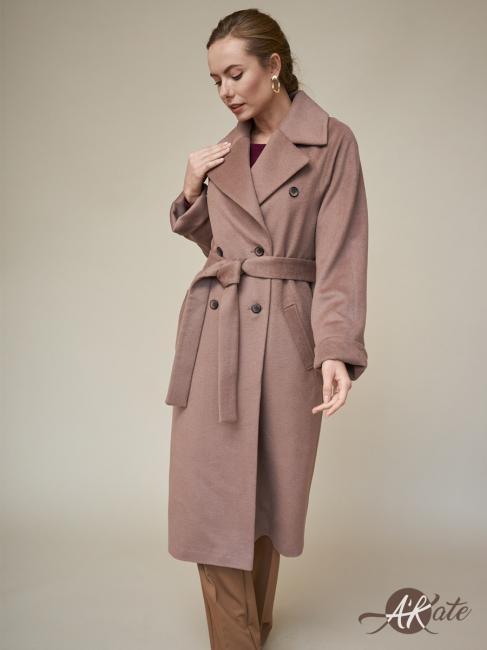 Пальто реглан бежевое