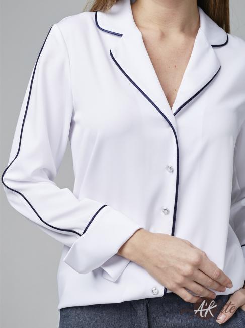 Блузка пижамная