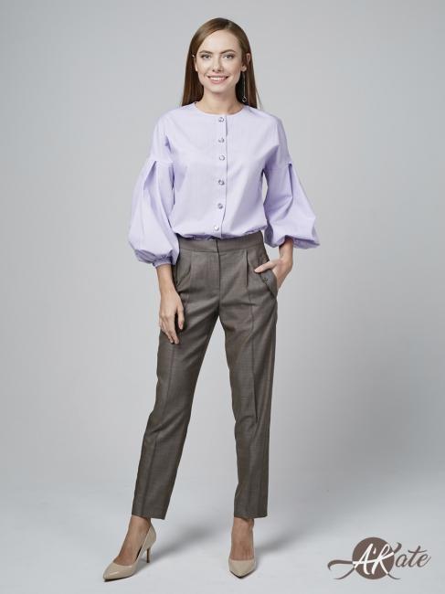 Блузка с пышным рукавом